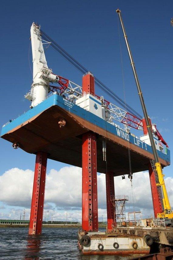 VLG nuotr./Windlift1 platforma