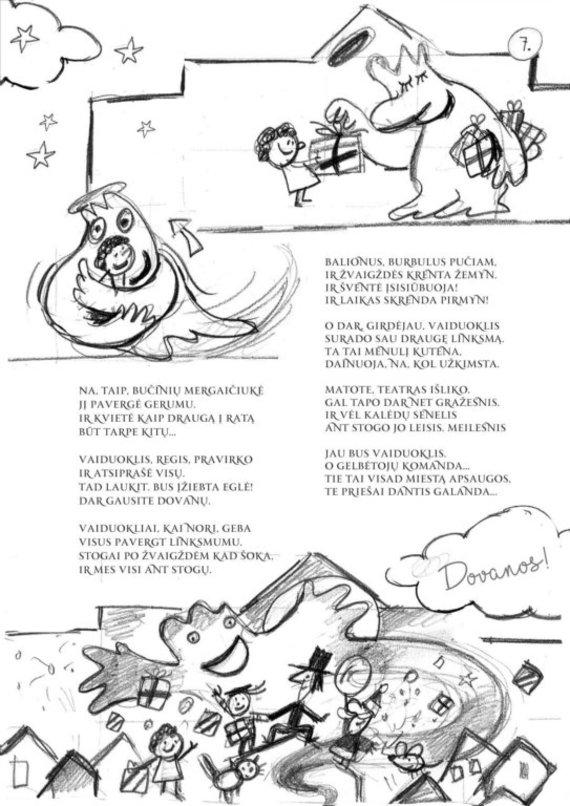 jurossvente.lt nuotr./Animuota knygelė