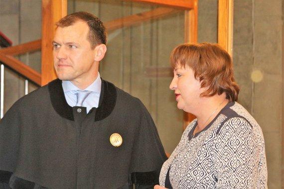 J.Andriejauskaitės/15min.lt nuotr./Buvusi prokurorė Rita Aliukonienė kaltinama prekyba poveikiu.