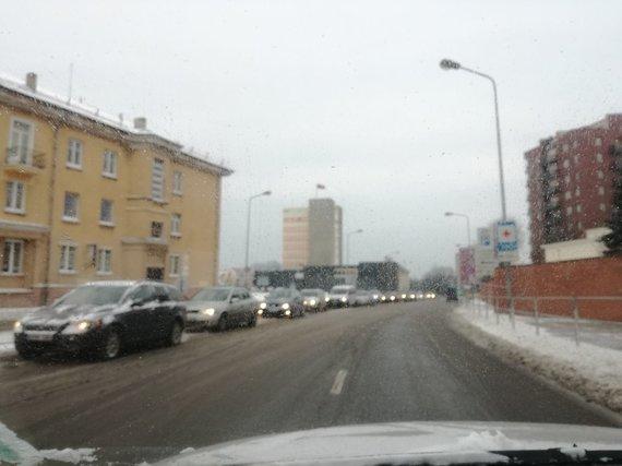 J. Andriejauskaitės / 15min nuotr./Avarija Klaipėdoje