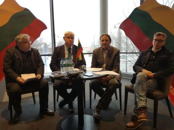 J. Andriejauskaitės / 15min nuotr./(Iš kairės) J.Genys, V.Grubliauskas, N.Lendraitis ir V.Vareikis