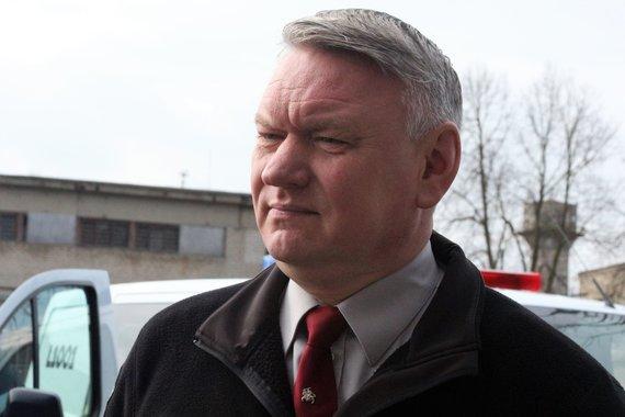 J. Andriejauskaitės / 15min nuotr./Klaipėdos apskrities VPK viršininkas A.Motuzas