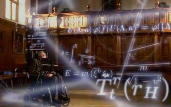 """Kadras iš """"YouTube""""/Daina apie visatos sandarą: Stepheno Hawkingo partija."""