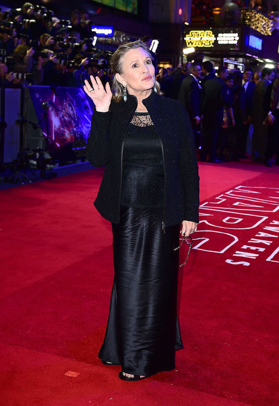 """""""Scanpix"""" nuotr./Carrie Fisher"""