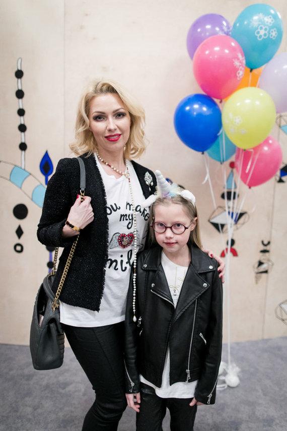 Natalija Martinavičienė su dukra Sandra