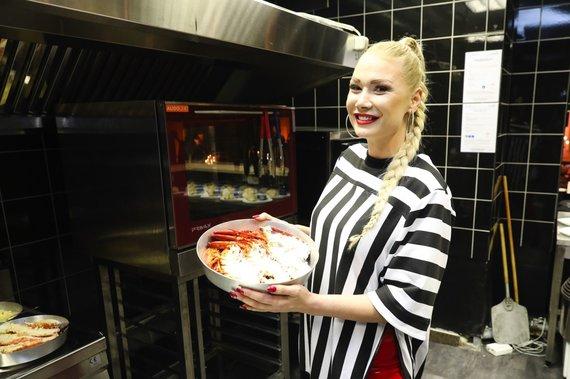 Natalija Bunkė naujame Kauno restorane
