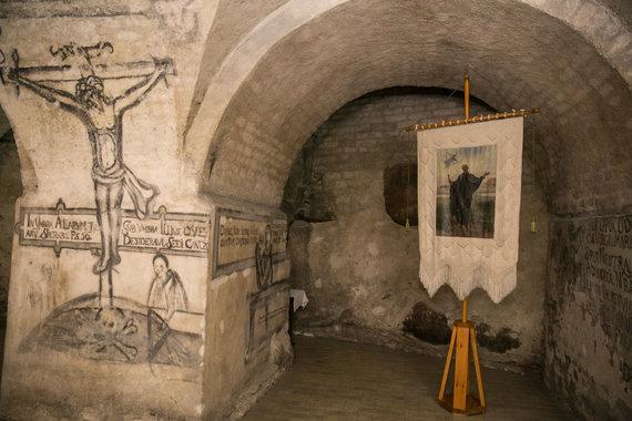 Šv. Kazimiero bažnyčioje Šv.Andrejaus Bobolos paveikslas