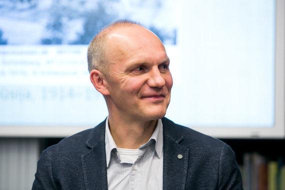 Juliaus Kalinsko / 15min nuotr./Knygos autorius Tomas Balkelis