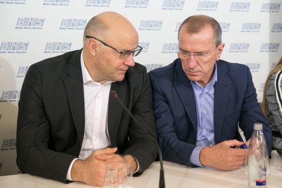 Juliaus Kalinsko / 15min nuotr./ Ivan Švabovič ir Petras Narbutas