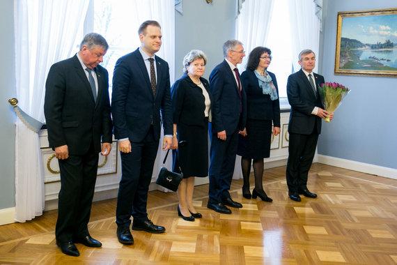 Juliaus Kalinsko / 15min nuotr./Seimo valdybos nariai