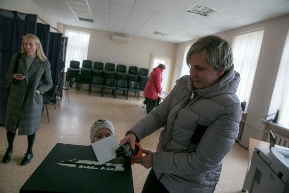 Juliaus Kalinsko / 15min nuotr./Antrasis merų rinkimų turas Trakų rajone
