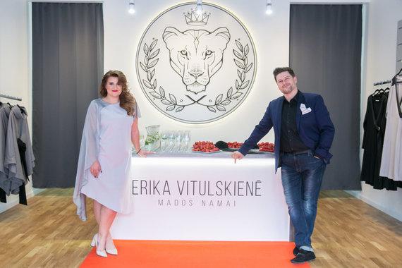 Juliaus Kalinsko / 15min nuotr./Erika Vitulskienė ir Merūnas Vitulskis