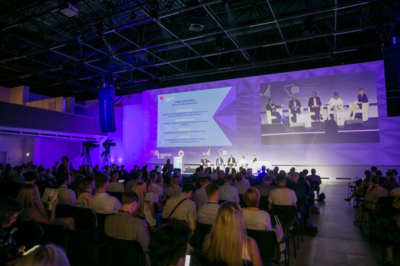 "Juliaus Kalinsko / 15min nuotr./""Innovation Drift"" technologijų forumas"