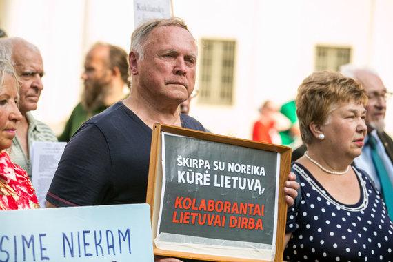 Juliaus Kalinsko / 15min nuotr./Mitingo dalyviai