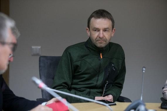 Juliaus Kalinsko / 15min nuotr./Susitikimo akimirka