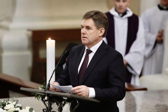 Juliaus Kalinsko / 15min nuotr./Igoris Petrišenka Vilniaus katedroje