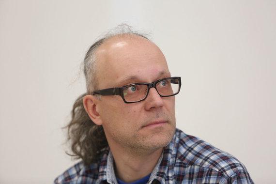 """Juliaus Kalinsko/15min.lt nuotr./Leidyklos """"Kitos knygos"""" vadovas Gediminas Baranauskas"""