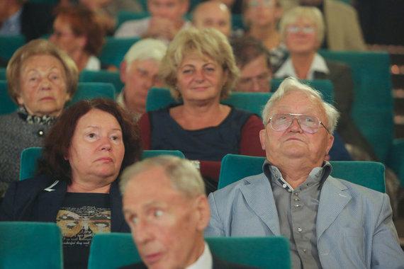 Juliaus Kalinsko/15min.lt nuotr./Algimantas Čekuolis su žmona Edita