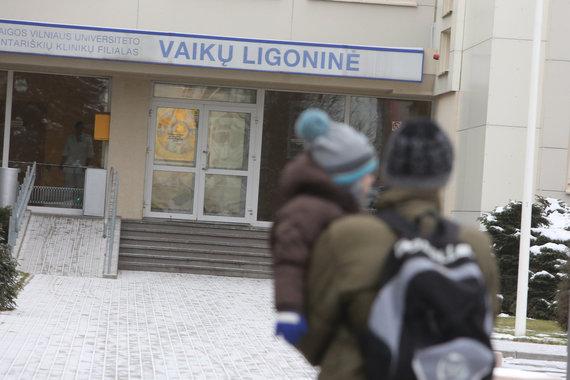 Juliaus Kalinsko / 15min nuotr./Santariškių klinikų vaikų ligoninė