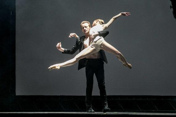 """Juliaus Kalinsko / 15min nuotr./Baletas """"Radio and Juliet"""""""