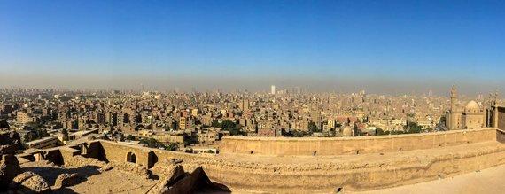 Juliaus Kalinsko / 15min nuotr./Kairo panorama