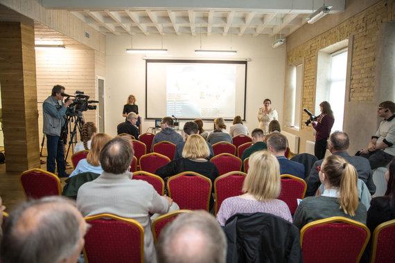 Juliaus Kalinsko / 15min nuotr./Aušra Maldeikienė pristatė savo 2019 metų Prezidento rinkimų kampanijos programą