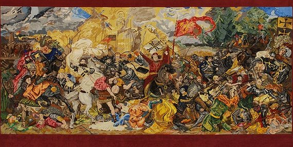 Vytauto Didžiojo karo muziejaus nuotr./Paveikslo kopija