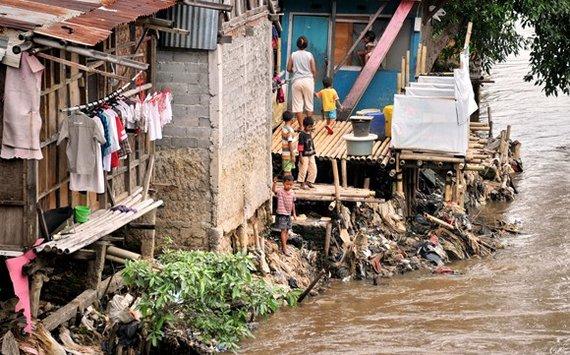 """AFP/""""Scanpix"""" nuotr./Gyvenimas Džakartoje"""