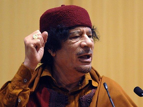 """Scanpix"" nuotr./Libijos diktatorius Muammaras Khadafi"