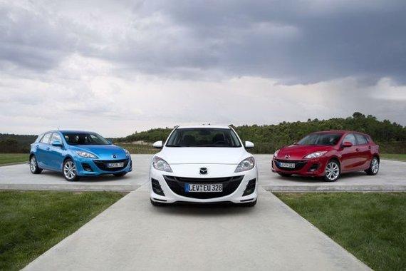 """Gamintojo nuotr./""""Mazda3"""" su naujuoju 1,6 litro dyzeliniu varikliu"""