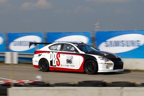 """Roberto Riabovo nuotr./""""PBS Artas Racing"""" treniruotė"""