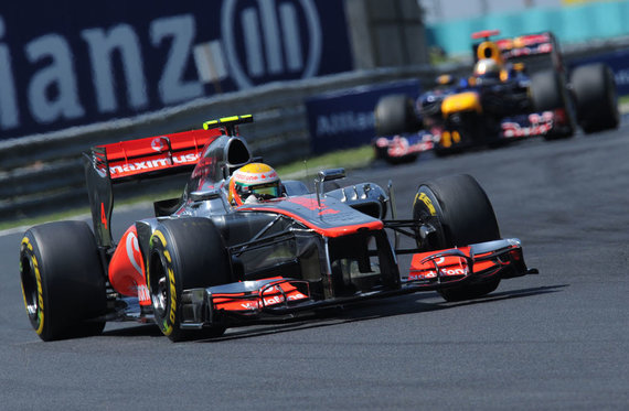 """Formulės-1"" Vengrijos GP. ""McLaren"" bolidas"