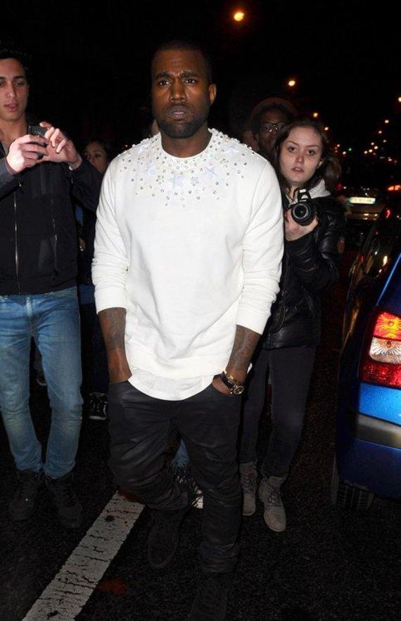 """AP/""""Scanpix"""" nuotr./Kanye Westas"""