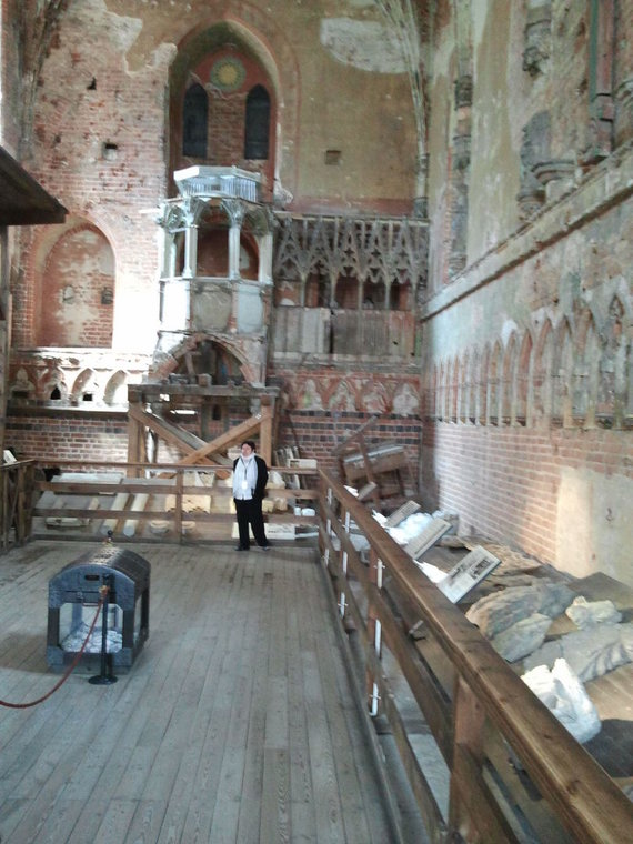 15min.lt nuotr./Marienburgo pilies bažnyčia