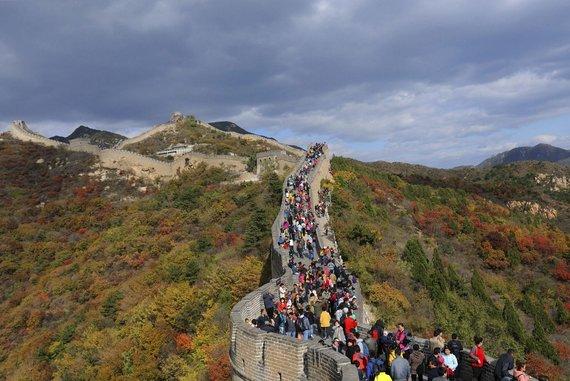 """""""Reuters""""/""""Scanpix"""" nuotr./Didžioji kinų siena"""