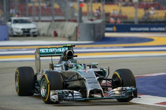 "AFP/""Scanpix"" nuotr./Nico Rosbergas"
