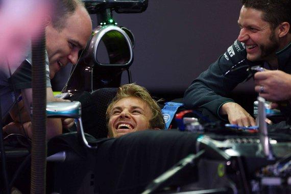"""Scanpix""/""LaPresse"" nuotr./Nico Rosbergas"