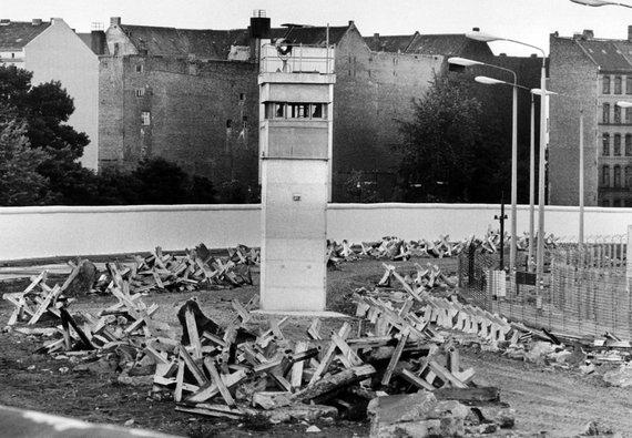 """Scanpix""/""Picture-Alliance"" nuotr./Berlyno siena (1985 m.)"