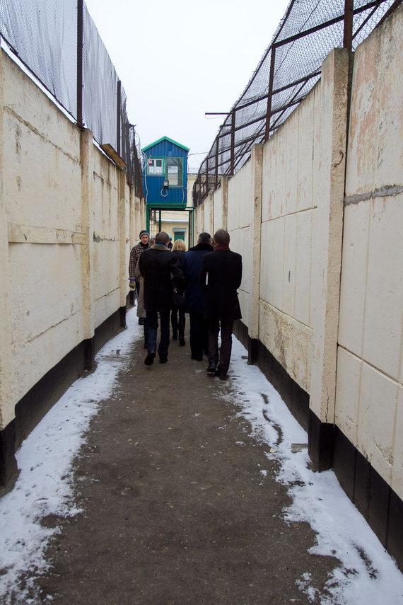 Seimo kontrolierių įstaigos nuotr./Apsilankymas Marijampolės pataisos namuose