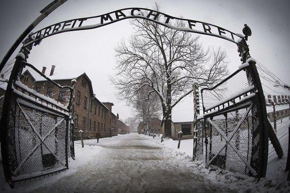 """AFP/""""Scanpix"""" nuotr./Aušvico koncentracijos stovykla"""