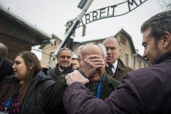 "AFP/""Scanpix"" nuotr./Aušvico koncentracijos stovyklos belaisvis"