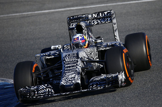 """""""Scanpix""""/HZ/PIXATHLON/SIPA nuotr./Danielis Ricciardo"""