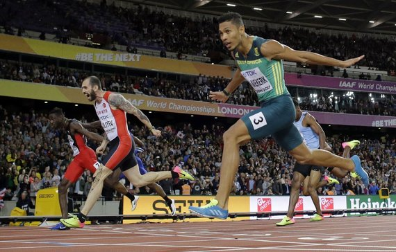 """AFP/""""Scanpix"""" nuotr./200 m finalas"""