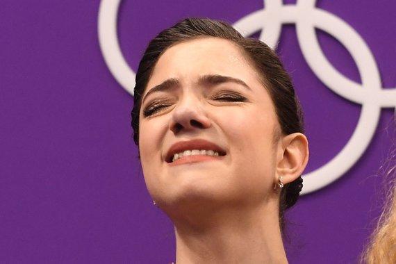 """""""Scanpix""""/AP nuotr./Emocingos akimirkos finale"""