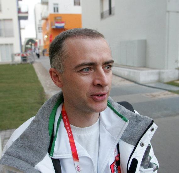 Alfredo Pliadžio nuotr./Lietuvos olimpinės rinktinės vyriausiasis gydytojas Dalius Barkauskas