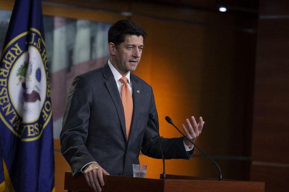 "AFP/""Scanpix"" nuotr./Paul Ryan"