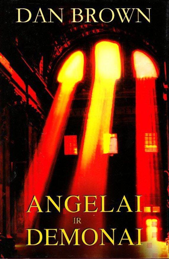 """Knygos viršelis/Knyga """"Angelai ir demonai"""""""
