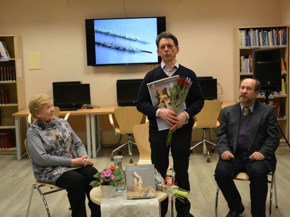 Rūtos Averkienės nuotr./Algirdas Juškevičius pristatė knygą