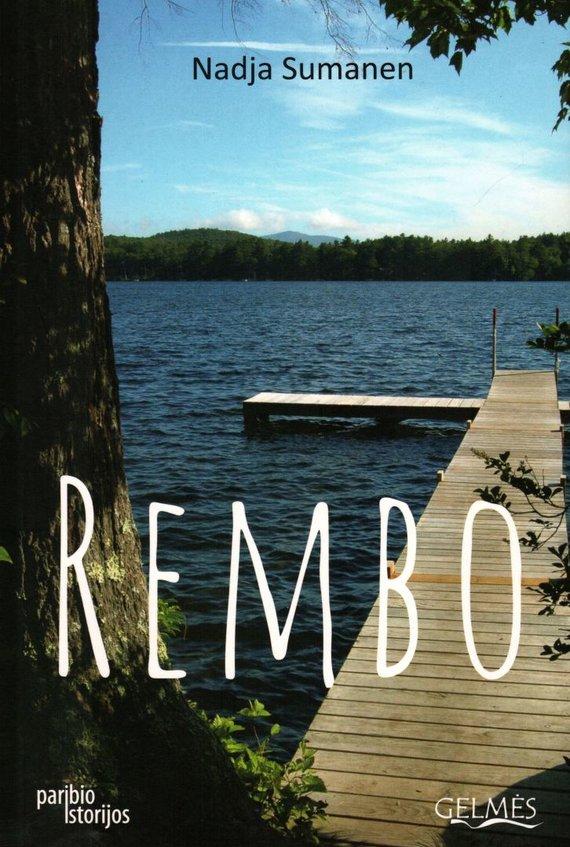 "Knygos viršelis/Knyga ""Rembo"""