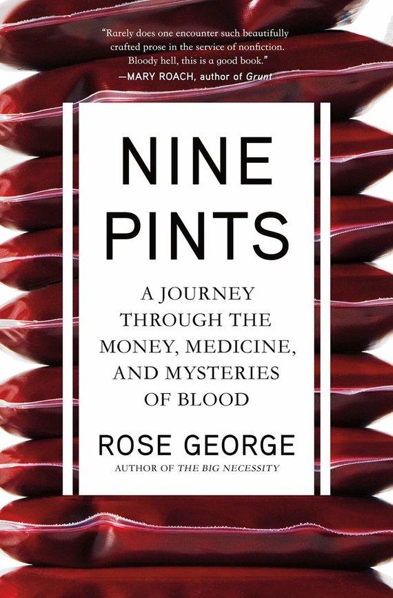 """Knygos viršelis/Knyga """"Nine Pints"""""""